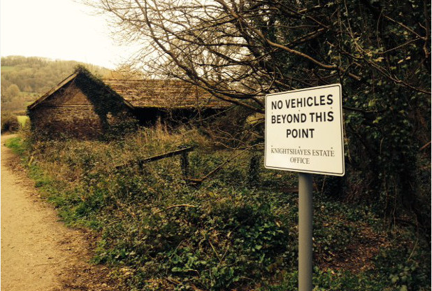 Devon Dogging hotspot