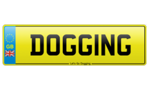 Lets go dogging logo