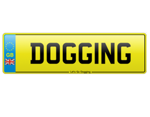 Lets go dogging logo