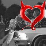 Valentines day dogging night