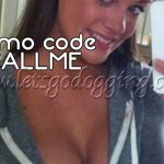 promo code CALLME at Dogging central