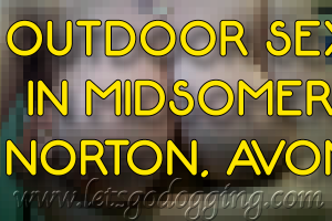 Outdoor sex in Midsomer Norton with Debra, 51?