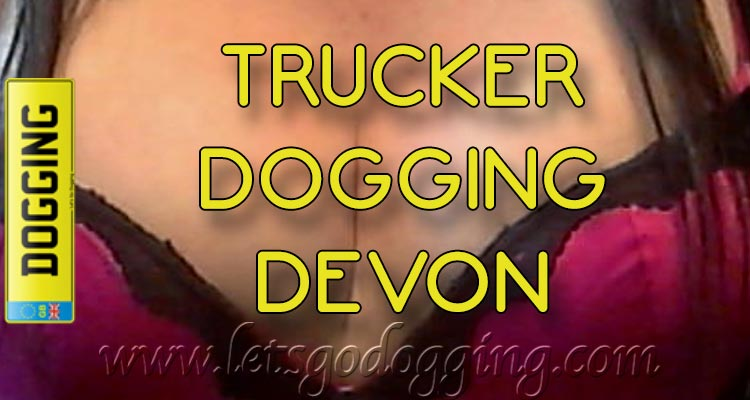 Trucker dogging Devon with Samantha